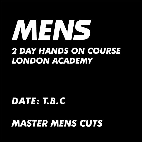 MENS CUTTING COURSE ADVERT